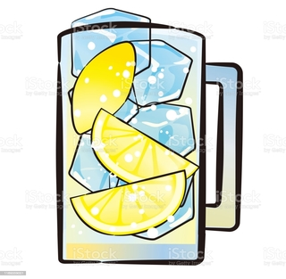 an-illustration-of-lemon-sour-in-a-glass-vector-id1169359001